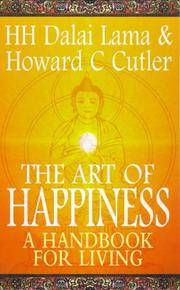 Art of Happiness A Handbook for Living by  Dalai Lama H H and Cutler Howard C - Paperback - Third printing - 1998 - from shedlightbooks and Biblio.co.uk