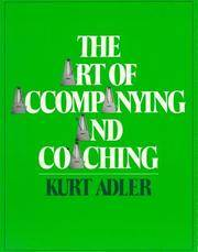 Art of Accompanying and Coaching, The