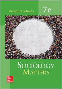 Sociology Matters by  Richard T Schaefer - Paperback - from Good Deals On Used Books and Biblio.co.uk