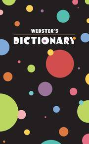 Webster's Dictionary (circles)
