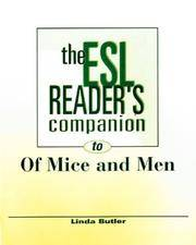 The Esl Reader's Companion To Of Mice and Men