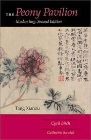 The Peony Pavilion: Mudan ting, Second Edition