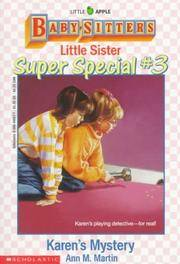image of Karen's Mystery (Baby-Sitters Little Sister Super Special #3)