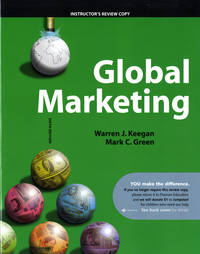 image of Global Marketing (Sixth Edition) (Instructor's Copy)