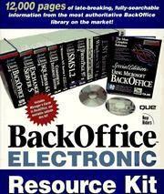 Backoffice Electronic Resource Kit.