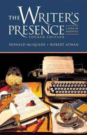 image of The Writer's Presence : A Pool Of Readings: Fourth Edition