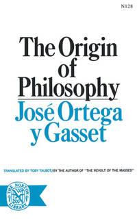 The Origin of Philosophy.