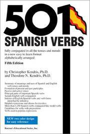 501 Spanish Verbs: Fully Conjugated in All the Tenses in A New Easy-To-Learn Format...