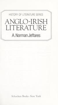 Anglo-Irish Literature
