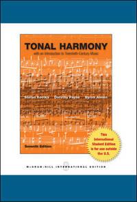 image of Tonal Harmony