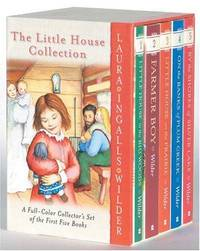The Little House Collection (Boxed set - Little House in the Big Woods,  Farmer Boy, Little House on the Prairie, On the Banks of Plum Creek, By  the Shores of Silver Lake)