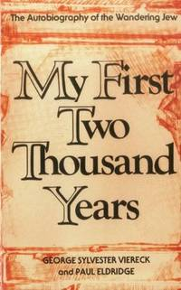 My First Two Thousand Years: The Autobiograpy of the Wandering Jew