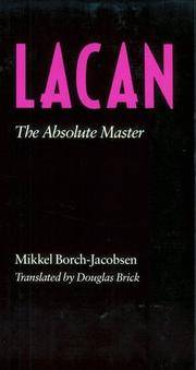 Lacan, The Absolute Master