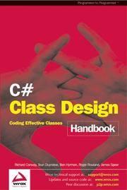 C# Class Design Handbook