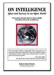 On Intelligence : Spies and Secrecy in an Open World