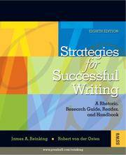 image of Strategies for Successful Writing: A Rhetoric, Research Guide, Reader and Handbook (8th Edition)