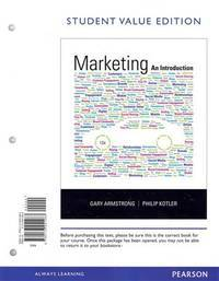 image of Marketing: An Introduction, Student Value Edition (12th Edition)