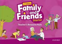 Family And Friends: Starter: Teacher's Resource Pack - Used Books
