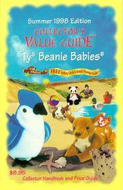 Collectors Value Guide Ty Beanie Babies: Collector Handbook and Price Guide Summer 1998