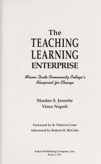 Teaching Learning Enterprise Miami Date Community Colleges Blueprint: Miami-Dade Community...