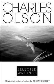 Selected Writings Of Charles Olson