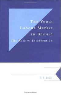 The Youth Labour Market in Britain