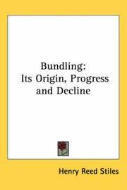 image of Bundling: Its Origin, Progress and Decline