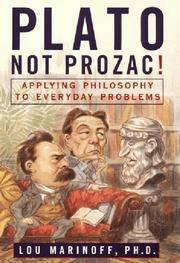 Plato not Prozac!
