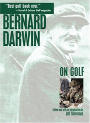 Bernard Darwin On Golf