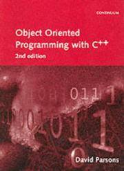 OBJECT-ORIENTED PROGRAMMING WITH C++  2E