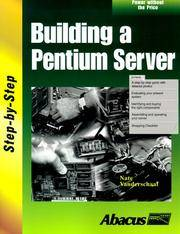 Building a Pentium Server by Nate Vanderschaaf - Paperback - 1999 - from Rob Briggs Books (SKU: 624805)
