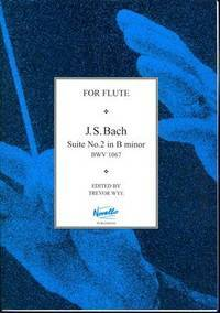 image of J.S.Bach: Suite No.2 In B Minor BWV 1067 (Flute, Piano Accompaniment / Instrumental Work)