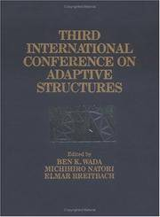 THIRD INTERNATIONAL CONFERENCE ON ADAPTIVE STRUCTURES, Proceedings of the, 9-11 November 1992,...