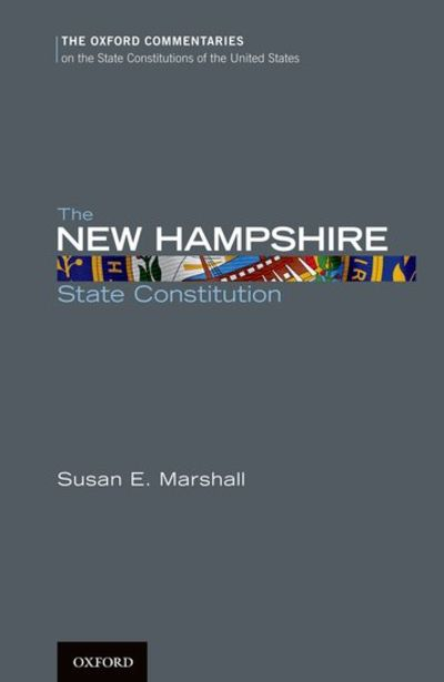 The New Jersey State Constitution Oxford Commentaries On The State Constitutions Of The United States