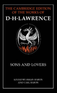 image of Sons and Lovers (The Cambridge Edition of the Works of D. H. Lawrence)