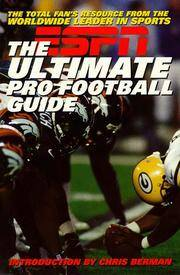 ESPN The Ultimate Pro Football Guide