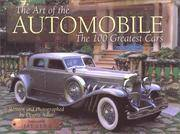 The Art of the Automobile: The 100 Greatest Cars by Dennis Adler - 1st Edition - 2000 - from Mark Henderson and Biblio.com