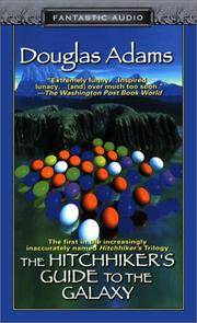 image of The Hitchhiker's Guide to the Galaxy: Volume One of the Hitchhiker's Trilogy
