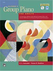 Alfred's Group Piano for Adults Teacher's Handbook, Bk 1 (Alfred's Basic Adult Piano...