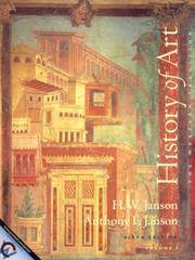 History of Art: The Western Tradition, Vol. 1: Prehistoric Through Gothic Art, 6th edition by H. W. Janson - Paperback - 2000-05-07 - from Books Express and Biblio.co.uk