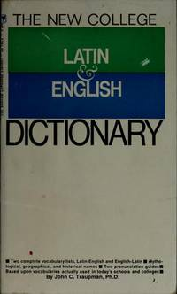 image of The New College Latin_English Dictionary (English and Latin Edition)