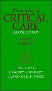 Principles of Critical Care Companion Handbook