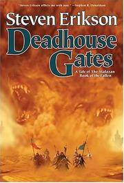 Deadhouse Gates (The Malazan Book of the Fallen, Book 2) by  Steven Erikson - Paperback - from Mediaoutletdeal1 and Biblio.com