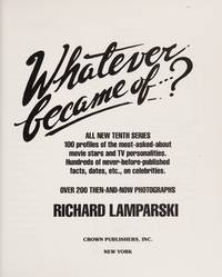 Whatever Became Of . . .? (Tenth Series)
