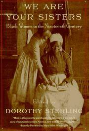We Are Your Sisters: Black Women in the Nineteenth Century