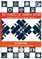image of Elements Of Japanese Design: Handbook Of Family Crests, Heraldry_Symbolism