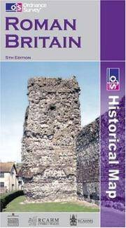 Roman Britain (Historical Map) by  Ordnance Survey - from millhousebooks and Biblio.com