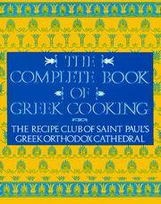 The Complete Book of Greek Cookery