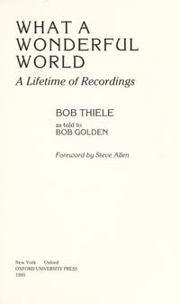 What a Wonderful World: A Lifetime of Recordings