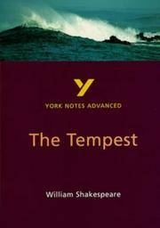 The Tempest - York Notes Advanced